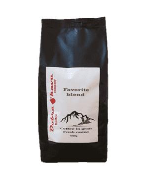 Кофе в зерне Dobra Kava Favorite blend