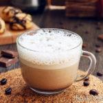 Нежный сливочный кофе Раф