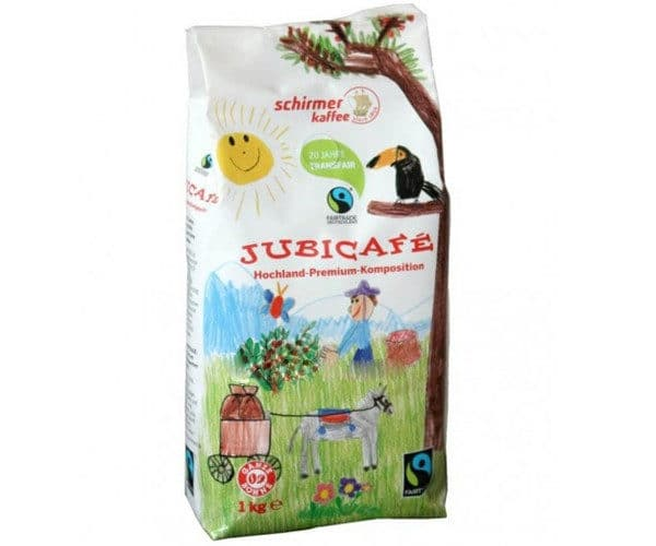 Schirmer Kaffee Fairtrade Jubicafe