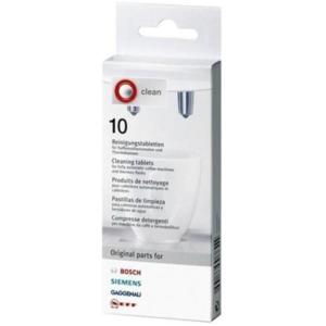 Bosch таблетки для очистки кофейных масел 10шт