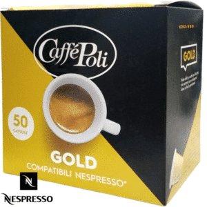 Кофе в капсулах Caffe Poli Gold (Nespresso)
