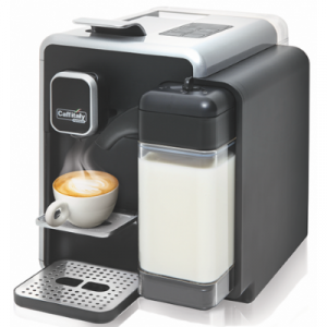 Caffitaly Bianca BLACK-WHITE S22 One Touch Cappuccino