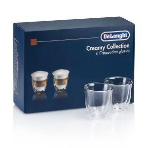 DeLonghi Набор стаканов для капучино DLSC301 CAPPUCCINO (6 шт)