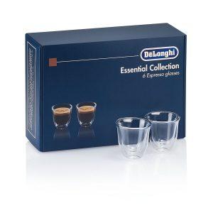 DeLonghi Набор стаканов для эспрессо DLSC300 ESPRESSO (6 шт)