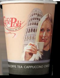 Стаканчик Caffe Poli 110 мл (100шт)