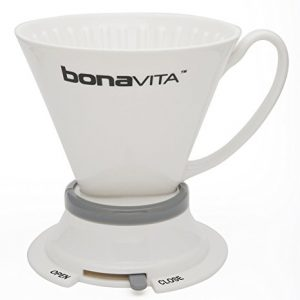 Пуровер Bonavita Wide Base Porcelain Immersion Dripper