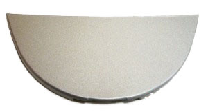 Крышка молотого кофе Saeco Incanto (серебро)