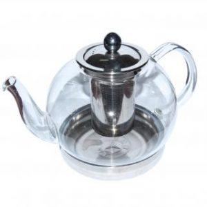Чайник стеклянный  «Индукция», 1500 мл
